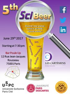 SCI-BEER 29 juin 2017-19h30 @ Poule Up | Paris | Île-de-France | France